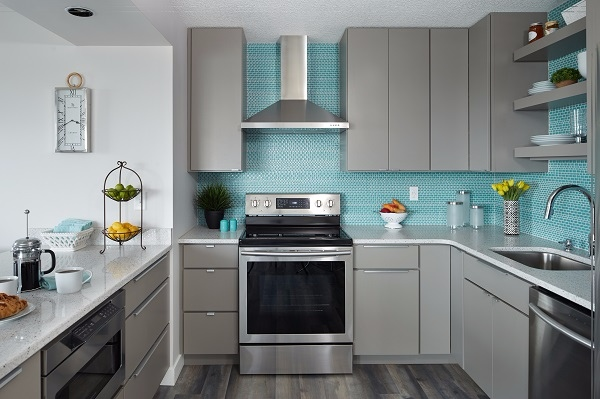 Cool Colors to Consider for Your New Kitchen Cabinets